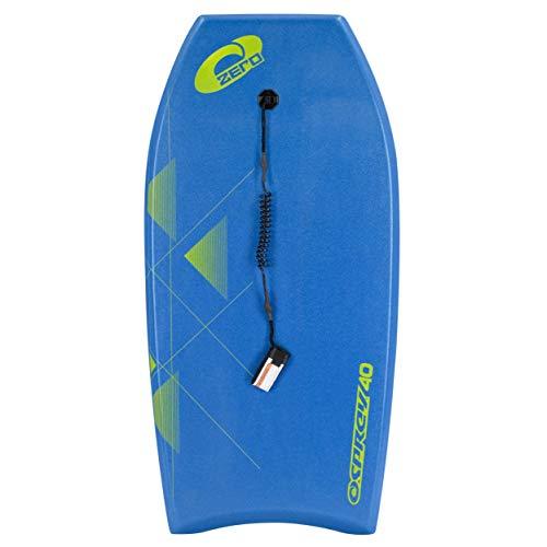 Osprey Zero - Tabla de Bodyboard con Correa para niños y Adultos, SU2024, Azul, 40 Pulgadas