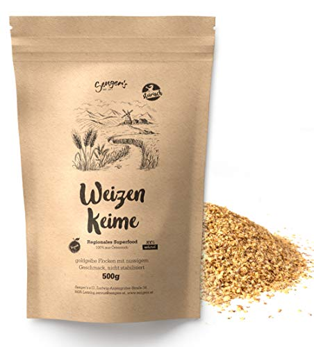 1 kg Weizenkeime frisch, roh, vegan, proteinreich Natur aus Österreich Superfood nicht erhitzt Rohkost-Qualität (2)