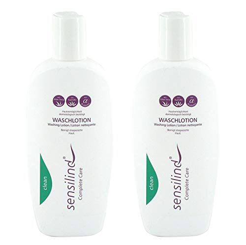 Sensilind Bodycare Waschlotion | Handwaschseife | 2 x 250 ml Flasche