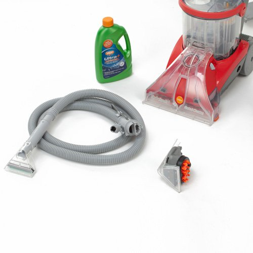 Vax Dual V Upright Carpet and Upholstery Washer - Grey/Red