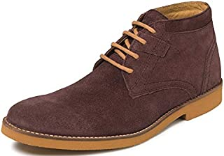 TONI ROSSI Men's Merito Ox Blood Leather Boots (650357)