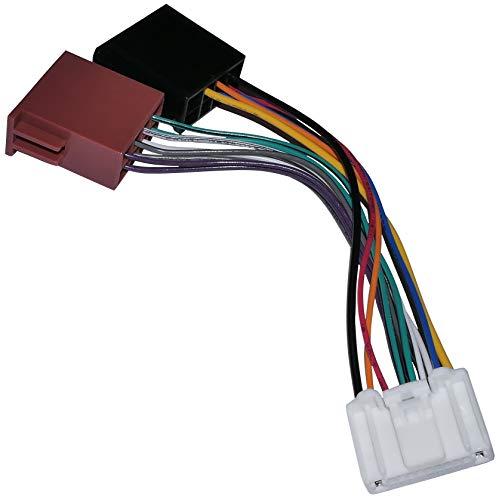 AERZETIX - Fascio adattatore cavo - Spina ISO - Per autoradio originale - C11906