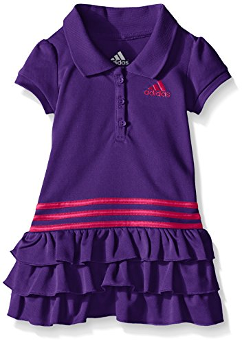 adidas Toddler Girls' Active Polo Dress, Purple, 2T