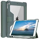 Étui pour iPad 10.2 / 10.5, Coque Robuste pour iPad 10.2 et 10.5 avec Porte-Crayon pour iPad,...