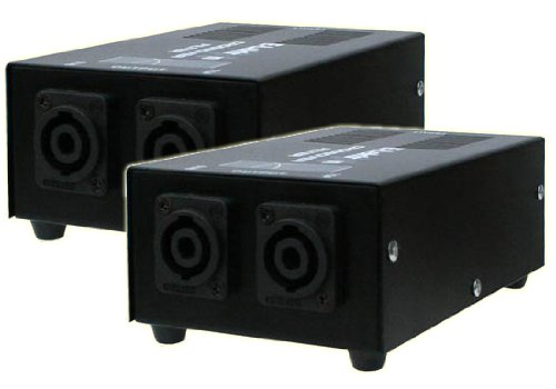Paar Passive Frequenzweichen STP-1 für DJ und PA Lautsprecher Anlagen 2x 1000W