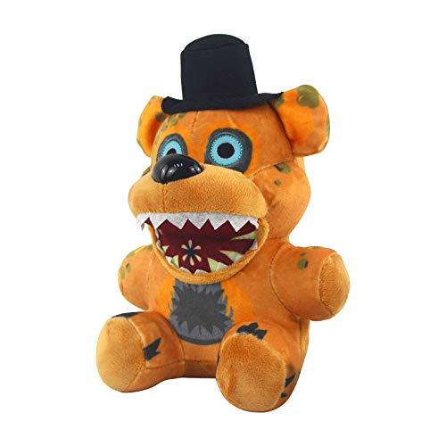 Plushie Toy Nights at Freddy's Pizza Simulator Freddy Figura coleccionable muñeca peluche suave juguetes para niños