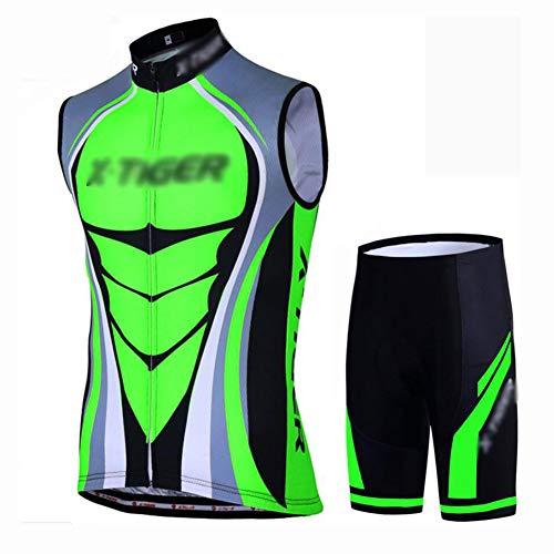 YXX Maillot Ciclismo Hombre Sin Mangas Camiseta Interior Camiseta Compresión Bike Biking...