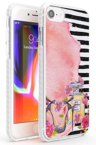 Case Warehouse El Estilo es Siempre Perfume Impact Funda para iPhone 7/8 / SE TPU Protector Ligero Phone Protectora con Floral Tendencia Moda Diseñador Elegante