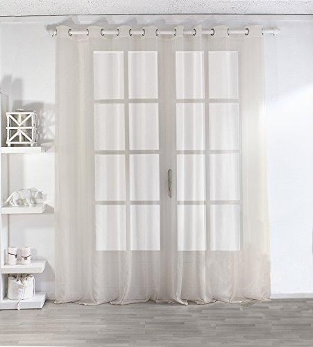 2010VR140240 Enjoy Home Rideau Occultant avec 8 Oeillets Polyester Vieux Rose 140x240 cm 240x140 cm
