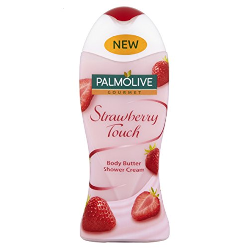 Palmolive Gourmet Strawberry Touch Body Butter Cremedusche, 250 ml