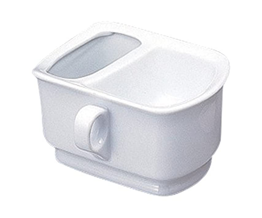 シーボード瞑想慎重シェービングカップ ホワイト 344742