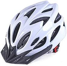 Adult Cycling Bike Helmet,Lightweight Unisex Bike Helmet,Premium Quality Airflow Bike Helmet (White)