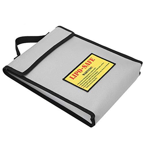 Labuda Bolsa para batería, Bolso Universal Plateado a Prueba de explosiones, para protección de la batería de Litio