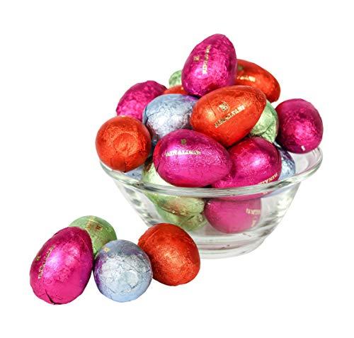 Huevos De Chocolate Rellenos | Surtido De 4 Chocolates Diferentes | 133 Huevos de Pascua | 2 Kg