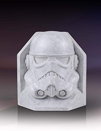 STAR WARS Stormtrooper STONEWORKS Faux Marble Bookends
