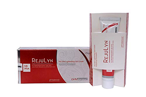 Livia Life Sciences Rejulyn HQ Skin Lightening Gel Cream for Hyper Pigmentation, Age Spots, Acne Scars, Melasma and Uneven Skin Tone, 25 g Pack