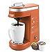 CHULUX Coffee Maker Single-Serve Coffee Machine for Capsule,Orange (Renewed)