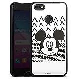 Coque en Silicone Compatible avec Huawei Y6 Pro (2017) Étui Silicone Coque Souple Disney Mickey...