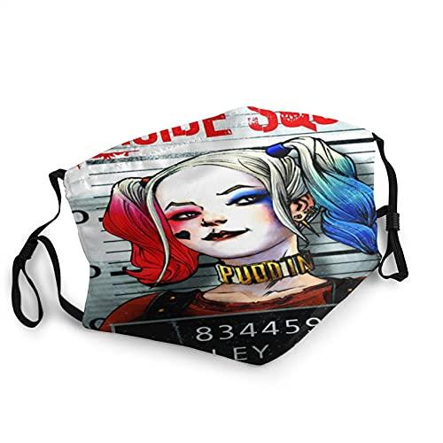 Harley Quinn - Póster de película para hombre y mujer, a prueba de polvo, transpirable, juego de supervivencia clásico reutilizable