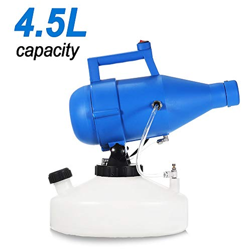 Lovinouse Upgraded 4.5L Portable Electric ULV Fogger Sprayer Mosquito Killer, Low Capacity and Easy to Carry, Farm Office Industrial Watering Irrigation Sprayers Home Garden Yard Supplies