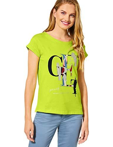 Street One Damen 315126 T-Shirt, Laser Lime, 40