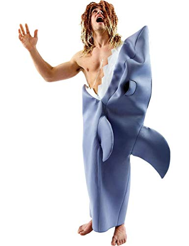 ORION COSTUMES Disfraz de Tiburón para Halloween Novedoso Gracioso de Película para Hombres