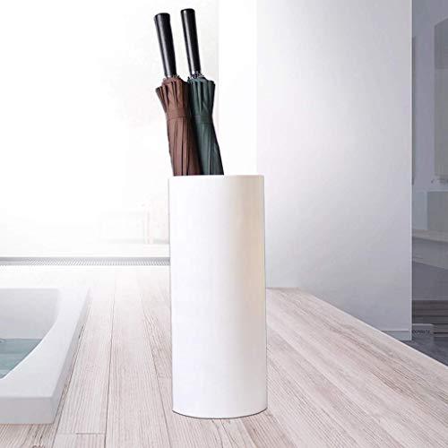 N/Z Haushaltsgeräte Blumenständer Haushaltsaufbewahrung Regenschirmständer/Bodenschirmständer/Regal mit Regenschirm YGDH (Farbe: Weiß) Farbe: Weiß Regalregal (Farbe: Rot)