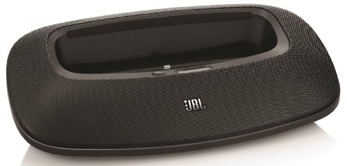 JBL OnBeat Mini iPad & iPhone Dock & High Performance Speaker with Lightning Connector (Black)