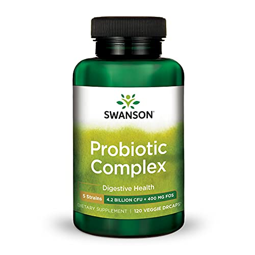 Swanson Probiotic Complex 4.2 Billion CFU 5-Strain...