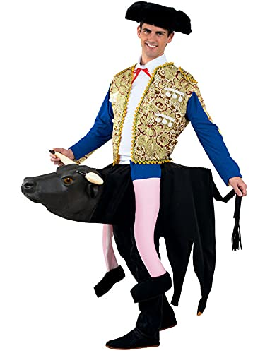 DISBACANAL Disfraz torero sobre Toro Adulto - XL