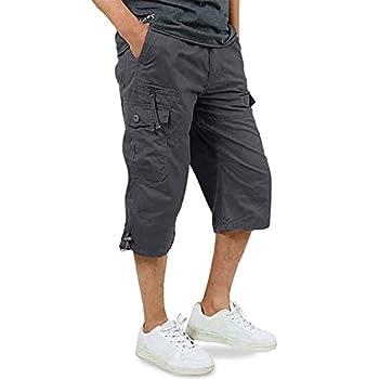 Best mens three quarter length pants Reviews
