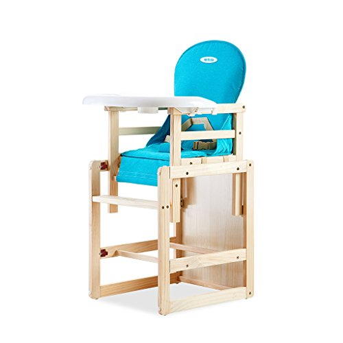 For Sale! HAMIMI Baby Dining Chair Solid Wood Multifunctional Chair Children Eating Table Kids Bb St...