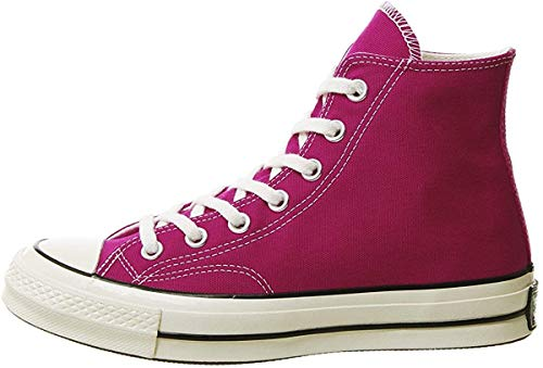 Converse Unisex-Erwachsene Taylor Chuck 70 Hi Sneakers, Mehrfarbig (Pink Pop/Black/Egret 673), 39 EU
