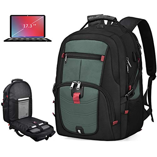 Laptop Backpack 17 Inch Waterproof Extra Large TSA Travel Backpack...
