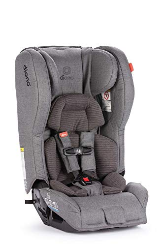 Diono Rainier 2AXT Latch, All-in-One Convertible Car Seat, Vogue Gray Dark (50216)