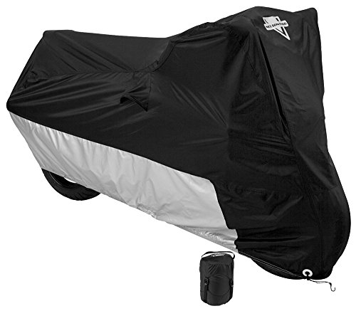 Nelson-Rigg MC-904-03-LG Deluxe All-Season Motorcycle Cover (Black, Large)
