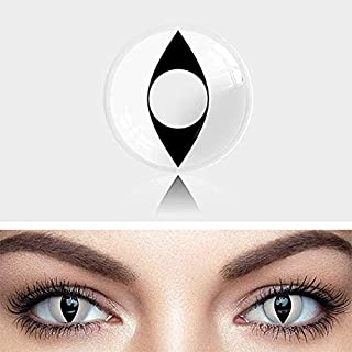 Halloween party,Christmas,Holiday gifts (myWhite Cat Eye)