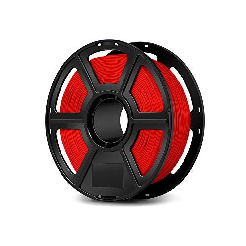 Flashforge USA 3D Printing Printer PLA Filament 1.75 mm 1 KG (Red)