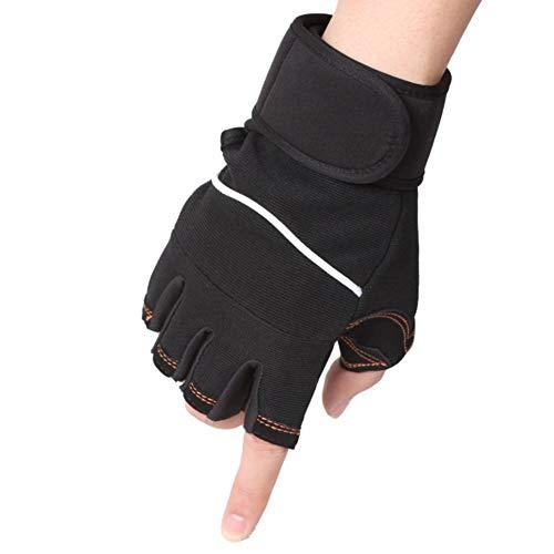 Herren Handschuhe Frühling Hjahr Draussen Und Sommer Chic Hantel Gewicht Rutschfeste Handschuhe Für Männer Und Frauen (Color : D, Einheitsgröße : One Size)