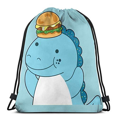 Moriah Elizabeth Cousin Derp The Dinosaur Dr-A-Wstr-I-Ng Bag Sports Fitness Bag Travel Bag Gift Bag