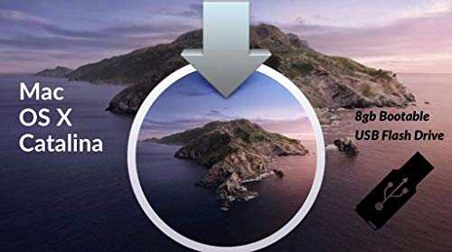 OS X Catalina 10.15 Bootable USB Installation install repair upgrage for Macbook Pro, Mac Mini, iMac