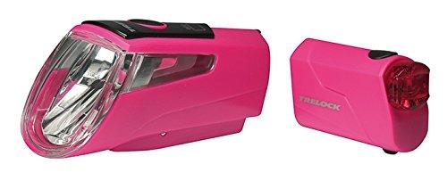 Trelock LI-ION Set 460 I-GO Power LS 720, Pink, 10 x 5 x 3 cm