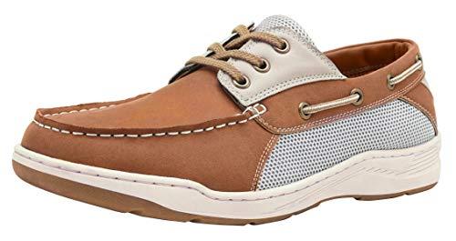 CAMEL CROWN Zapatos Nauticos Casual Hombre Resistente al Desgaste Respirable Náuticos para Hombre Verano