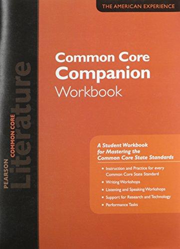 Pearson Literature 2015 Common Core Companion Workbook Grade 11