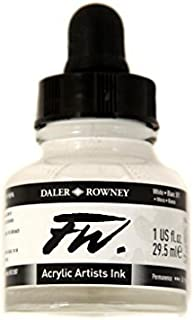 Daler Rowney FW Artists Acrylic Ink 29.5 ML Pot - White