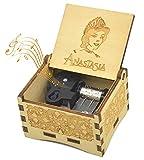 Micteney Caja de música Anastasia Once Upon a diciembre, caja de música de anastasia Once upon a December anastasia caja de música, reloj de madera/enrollador conducido
