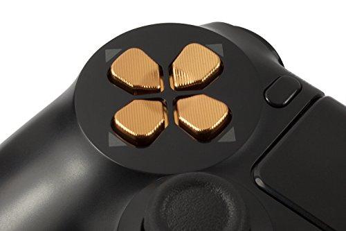 GAMINGER Pad Direccional de Aluminio D-Pad para Sony PlayStation 4 DualShock 4...