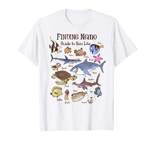 Disney Pixar Finding Nemo Guide To Sea Life T-Shirt