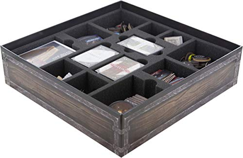 Feldherr Foam Tray Set Compatible with Folklore: The Affliction (2nd Printing) Board Game Box - Core Box