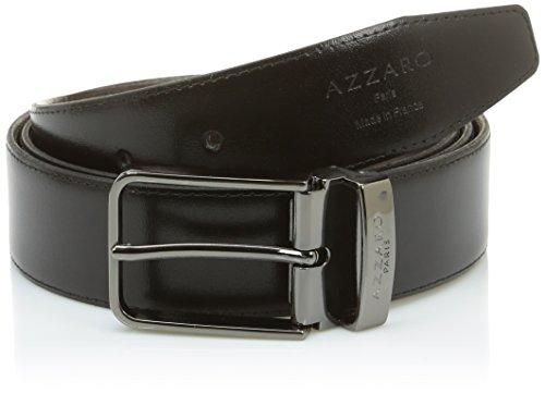 Azzaro ZCOF747 Ceinture, Noir (Noir/Marron), FR: 110 cm (Taille fabricant: 110) Homme